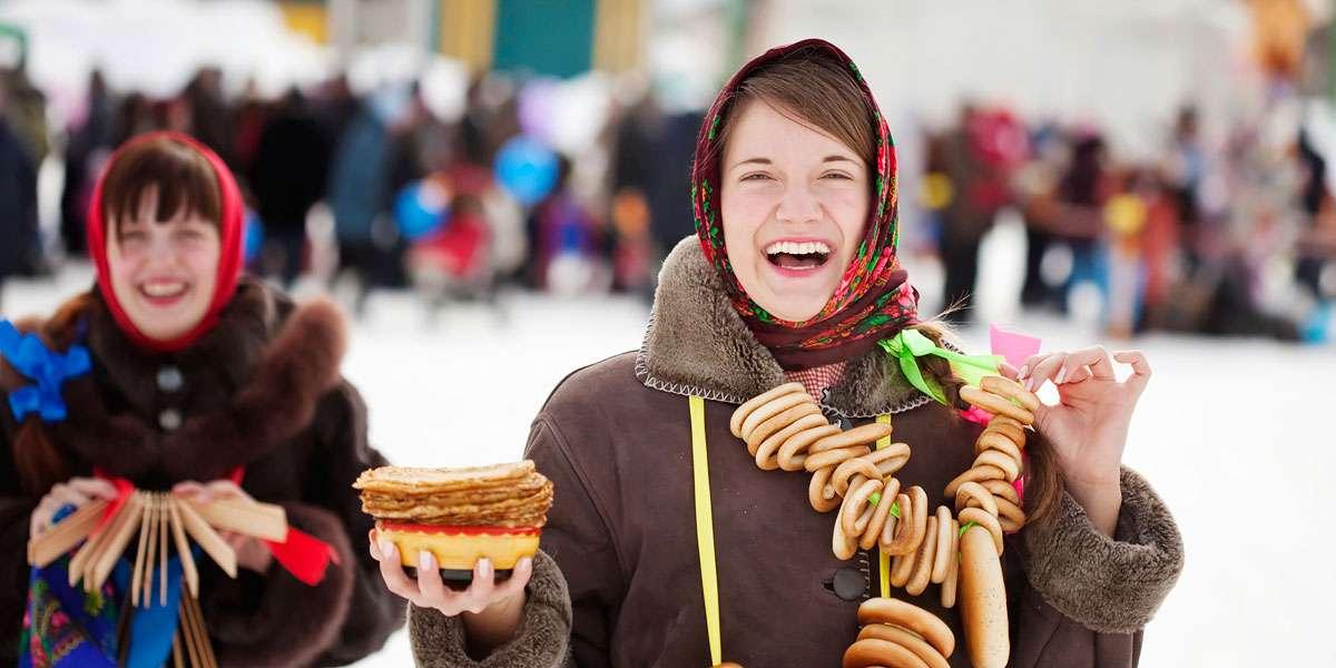 Maslenitsa, l'equivalente russo del Carnevale