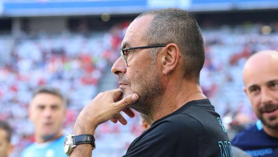 Mister Sarri non si fida del Cagliari: