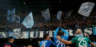 Napoli batte la Lazio