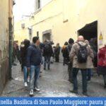 Napoli, crollo nella Basilica di San Paolo Maggiore