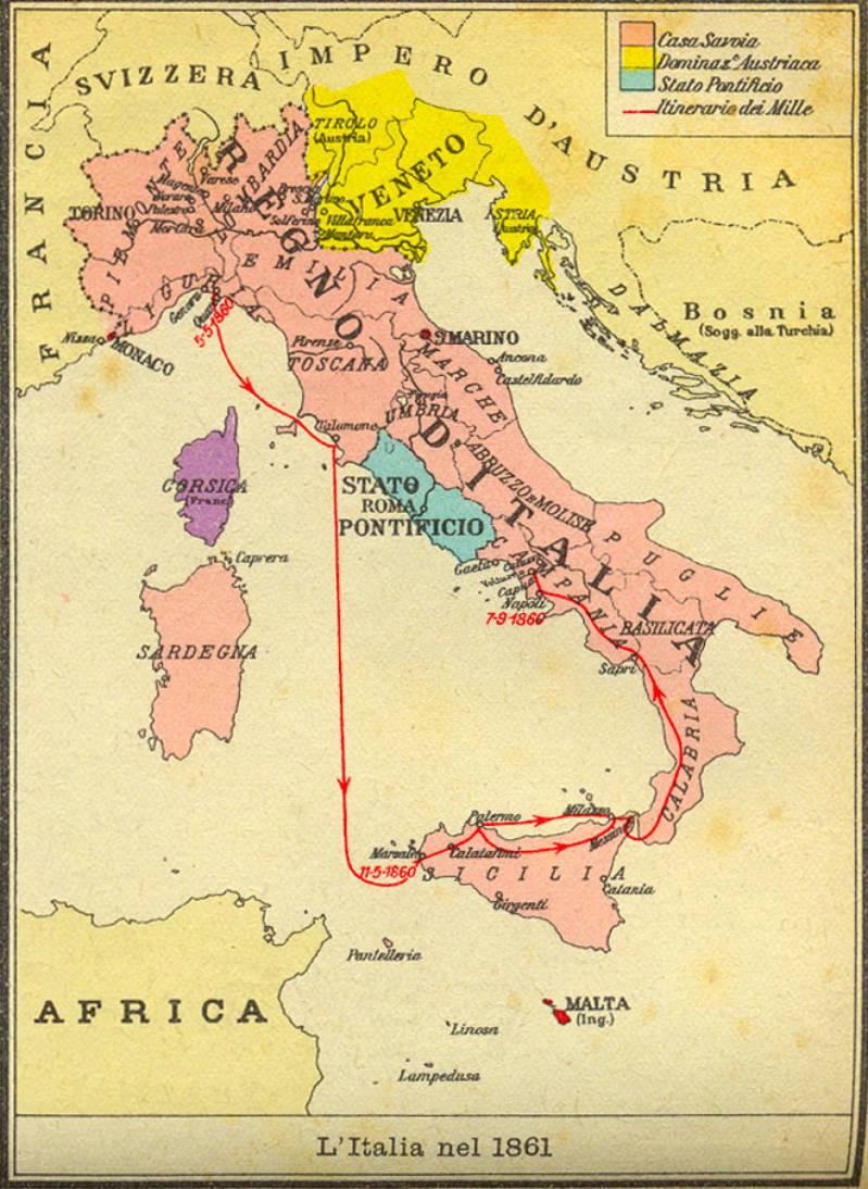 1864, Napoli capitale?
