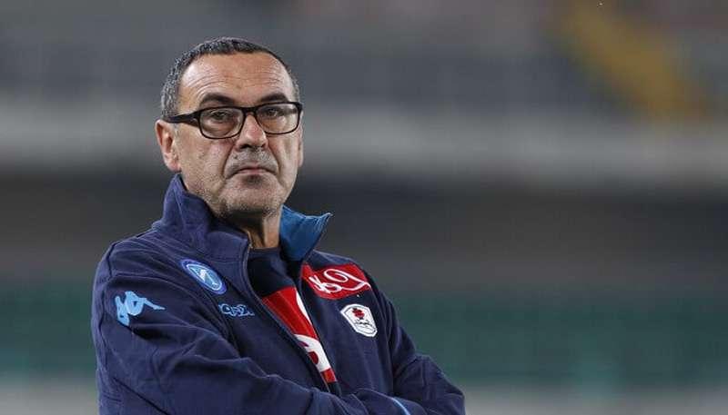 Mister Sarri orgoglioso del suo Napoli, sarri, sala stampa, Radio Kiss Kiss Italia, roma, san paolo, pareggio,