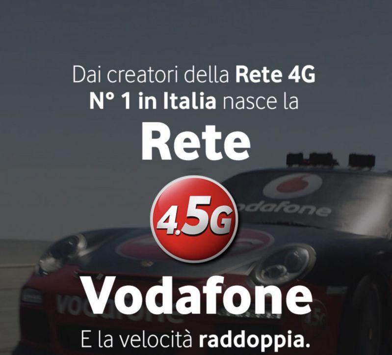 Vodafone lancia la rete 4.5G a Napoli