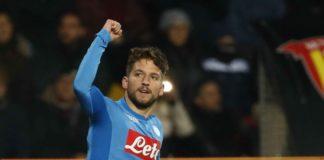 mertens, dichiarazioni, scudetto, campione d'italia, calcio napoli, serie a