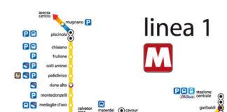 metro linea 1, metropolitana di napoli linea 1, chiusura