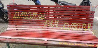 panchina rossa, femminicidio, napoli, donne, parità, uguaglianza