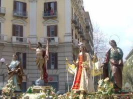 processione di pasqua, napoli, vomero, petizione