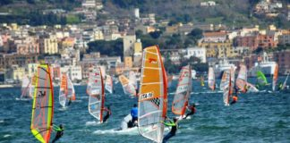 vincitori windsurf a pozzuoli, giorgia speciale, nicolò renna, coppa italia di windsurf