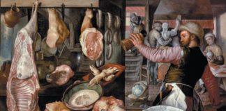 esposizione di animali morti, macelleria, napoli, tar
