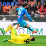 Il Napoli ha finito la benzina: 0-0 col Milan