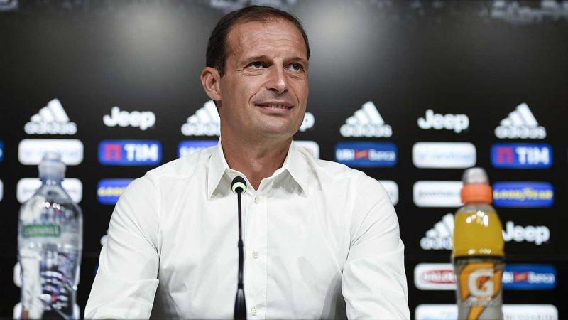 """Juve-Napoli, Allegri: """"Potrei giocare con 4 attaccanti"""""""