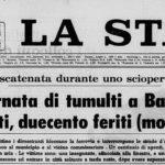 Battipaglia, la memoria del 9 aprile 1969
