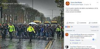 tifoso in coma muore, onore ai leoni di anfield, curva sud roma, facebook