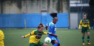 napoli femminile, de paula, calcio femminile