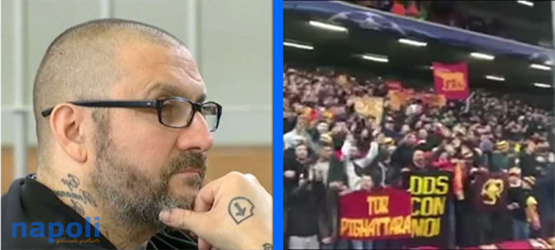 vergogna a liverpool scontri e stendardo per de santis (video)
