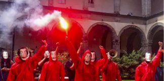 flash mob alla federico ii, napoli
