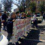 Corteo di protesta dei lavoratori precari delle coperative