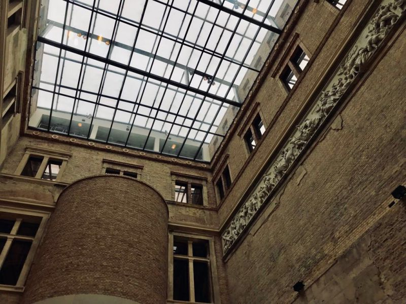 Il fregio del Vesuvio: un simbolo a Berlino, al Neues Museum