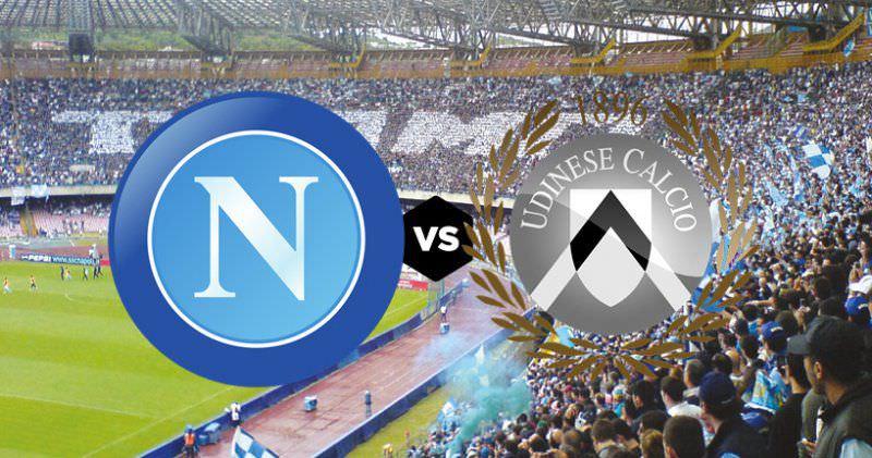 Napoli-Udinese: rivoluzione in campo