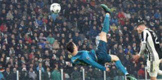 cristiano ronaldo rovesciata, juventus, champions