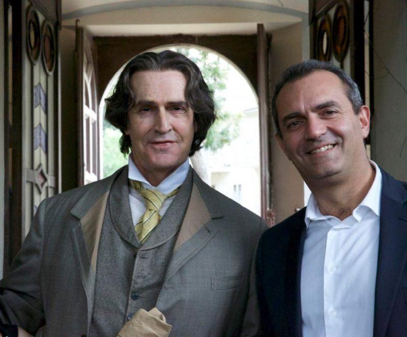 Rupert Everett è Oscar Wilde nel film girato a Napoli