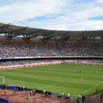 Maxischermo allo Stadio San Paolo