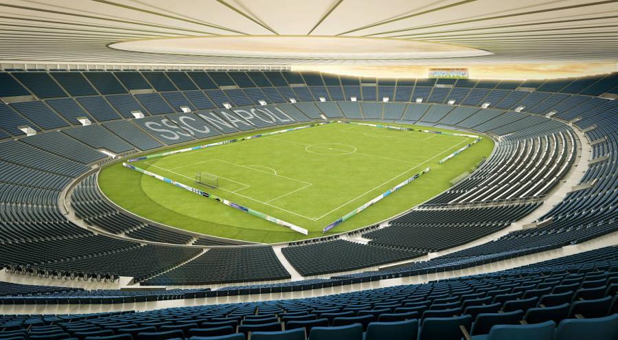De Laurentiis: «150 milioni per il nuovo stadio e il nuovo centro di allenamento»