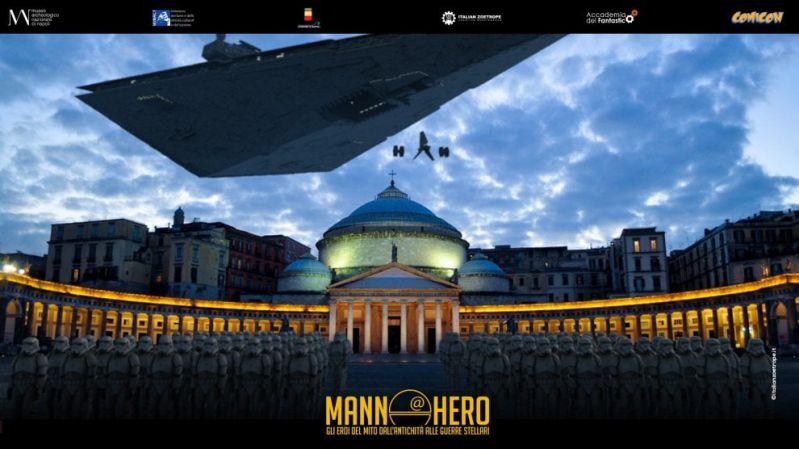 Star Wars day, Napoli in prima fila