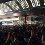 (Video) Fiorentina-Napoli, tifosi in delirio alla stazione di Napoli