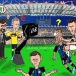 Dalla Tv araba arriva un'eloquente vignetta sul campionato italiano…