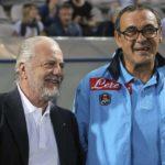 De Laurentiis: «Sarri vorrei restasse ma non possiamo comprare i big»