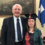 Napoli, la meravigliosa storia di Giulia, la studentessa affetta da sindrome di down