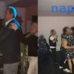 Esclusivo: de Magistris fa il trenino al party dei centri sociali