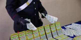 gratta e vinci falsi, contraffatti, carabinieri, guardia di finanza