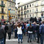 (Foto) Vomero, la protesta contro la costruzione dei box
