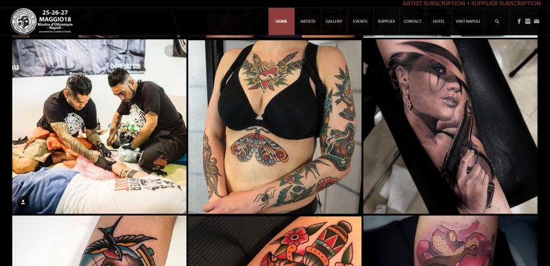 """Torna il """"Tattoo Fest"""" a Napoli"""