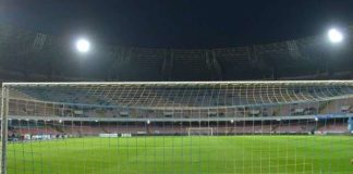 Stadio San Paolo vuoto