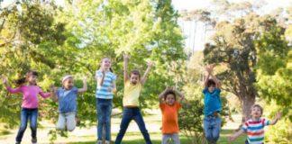 sviluppo, movimento corretto, bambini