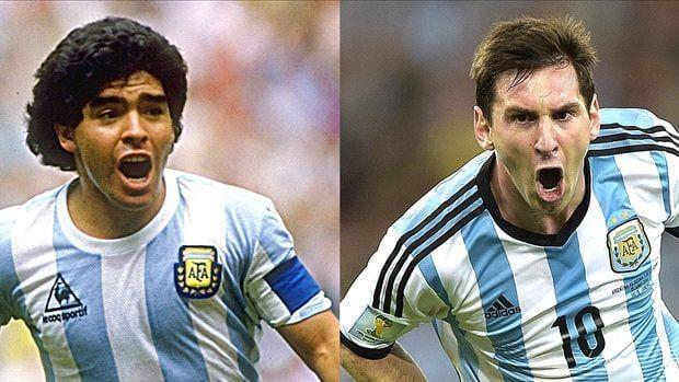 """Sergio Ramos contro Maradona: """"È anni luce lontano da Messi"""""""