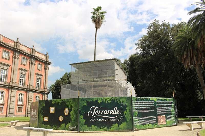 Capodimonte, la Fontana del Belvedere ritornerà al suo antico splendore grazie a Ferrarelle