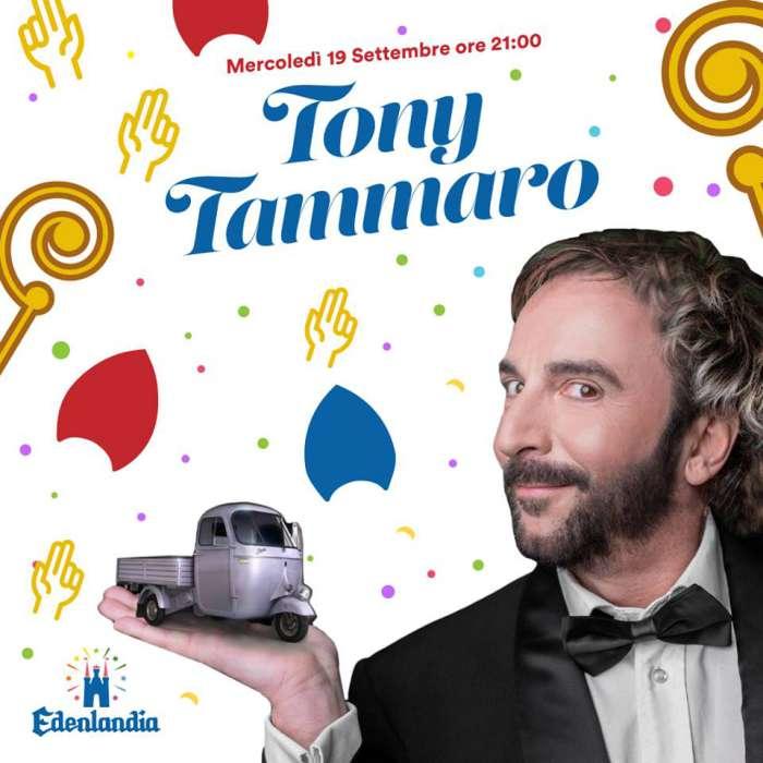 """""""A Festa 'e San Gennaro"""" a Edenlandia: Tony Tammaro e tutti gli eventi in programma"""