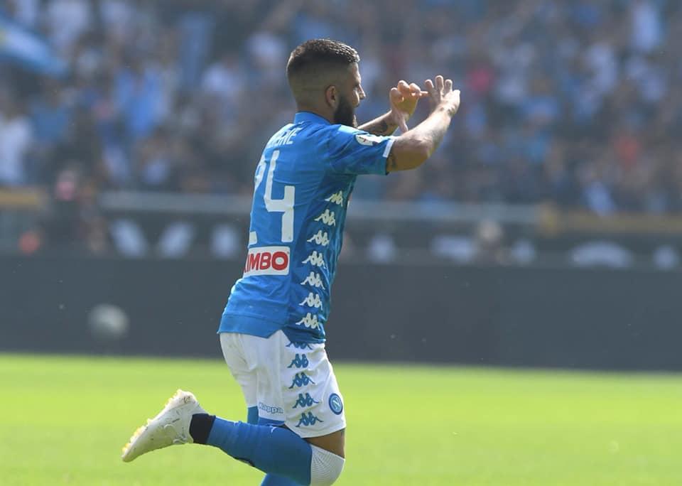 Napoli spettacolare a Torino: doppietta di Insigne e gol di Verdi