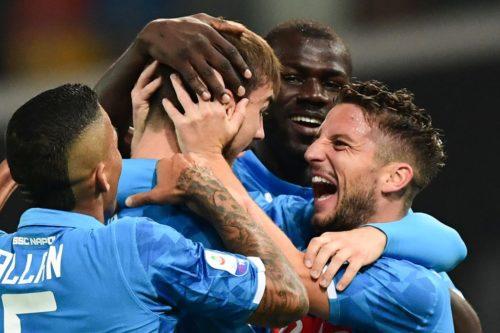 Dacia Arena, tris Napoli: azzurri a – 4 dalla Juve