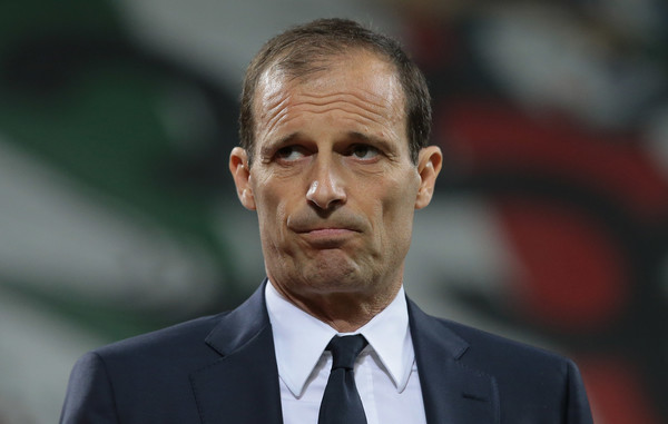 """L'ammissione di Allegri: """"Non posso paragonarmi a Guardiola e Ancelotti…"""""""