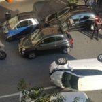 +++Ultim'ora+++ Vomero, incidente spettacolare in via Mario Fiore