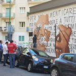 Arenella, nuovo murales dello street artist Jorit
