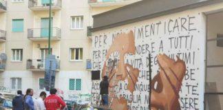 jorit, casa della socialità, murales