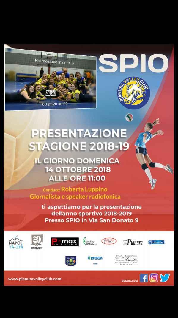Napoli, domenica 14 la presentazione ufficiale dell'ASD Pianura Volley Club