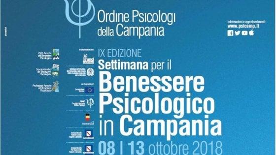 Settimana per il benessere psicologico in Campania, al via la nona edizione