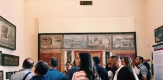 arte, museo, turisti